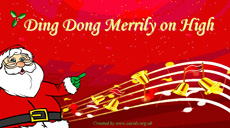 Ding Dong Merrily on High - Christmas Carol