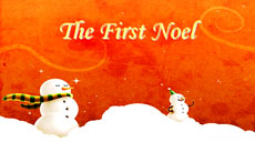 The First Noel - Christmas Carol